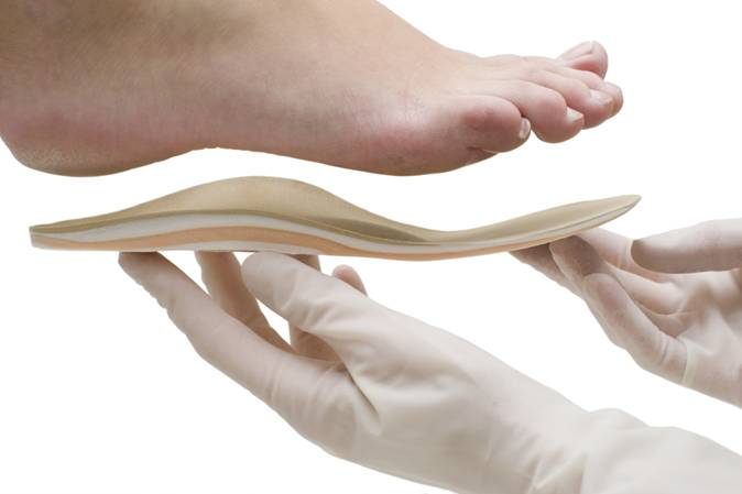 Orthotic inserts, pain management, spine alignment